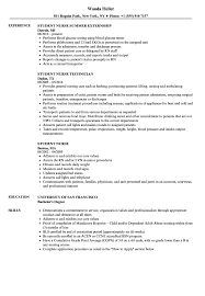 Student Nurse Resume Student Nurse Resume Samples Velvet Jobs 13