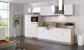 Küchen Unterschrank LISSABON 1 türig 50 cm breit Hochglanz