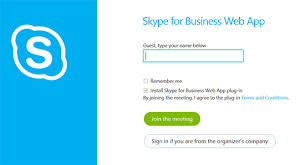 Making Skype Account How To Join Skype For Business Lync Meetings As A Guest