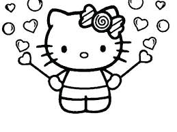 Hello Kitty Colring Sheets Free Hello Kitty Coloring Pages Mymodernautomotive Co