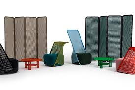 Carbon Fiber Chair 3 New Furniture Collections Weave New Technology Into Cool Designs
