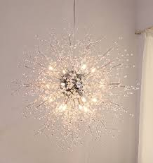 chandelier light bulb changer lovely gdns chandeliers firework led light stainless steel