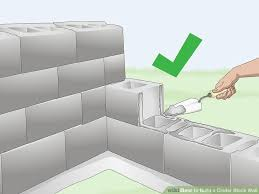 image titled build a cinder block wall step 23