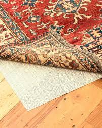 8x10 rug pad way to keep rugs from slipping on hardwood floors anti slip carpet backing