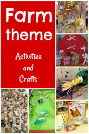 farm crafts and activities for preschoolers these are great farm theme ideas for at home