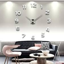 new acrylic big wall clock modern design mirror large vintage home decoration novelty giant large wall clocks