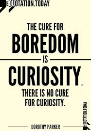 Curiosity Quotes Adorable Quotations Dorothy Parker On Boredom Inspirational Quotes