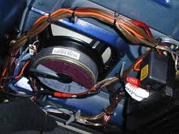 dr bob goes nuts over car stereo here s some more coming out of my 4 channel amp keep those ground wires short and be sure to scrape off the paint at the site