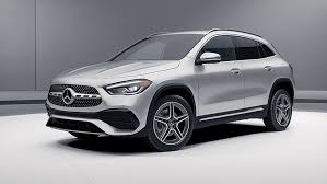 Among its many option packages, we'd choose the $1900 premium package, the $350 smartphone integration package, and the $1650 leather upholstery to make the interior feel a bit more. 2021 Gla 250 4matic Suv Mercedes Benz Usa