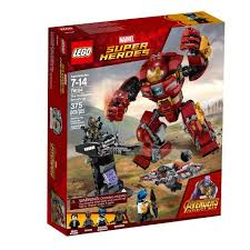 LEGO <b>Super Heroes Marvel Avengers</b> Movie The Hulkbuster Smash ...