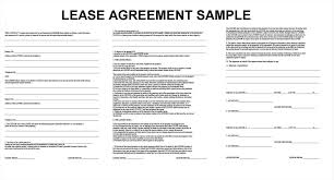 Sample Apartment Lease Agreement Apartment Lease Agreement Free Printable Example Mughals 7