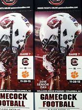 South Carolina Football Seating Chart 2 Fantastic Tickets For South Carolina Gamecocks Vs Clemson