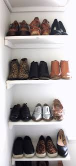 diy shoe rack like the yogurt throughout wall shelf for shoes prepare 4