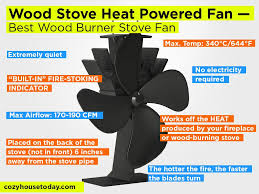 wood stove heat powered fan review pros and cons check our best wood burner