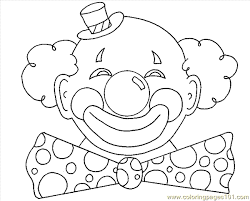 Small Picture Circus Clowns Coloring Page 05 Coloring Page Free Circus Clowns
