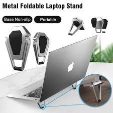 Metal Foldable Laptop Stand Base <b>Non</b>-<b>slip</b> Portable Notebook Holder