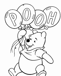 Winnie The Pooh Coloring Page 20 With Winnie The Pooh Coloring Page