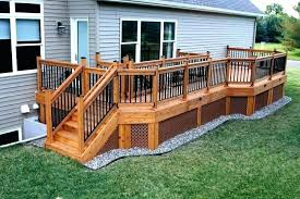 dog gate for porch outdoor gates decks put some swinging on your deck turf in ideas