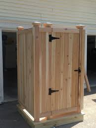 A Outdoor Showers Are Our Specialty Cape Cod Shower Kit Screen Bathroom New  Stall Kits The