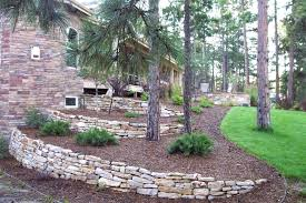 stone retaining wall ideas design example walls