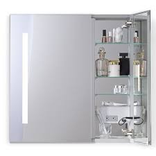 Horizontal Medicine Cabinet Robern Aio Series Two Door Lighted Medicine Cabinet Medicine