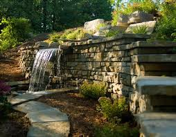 Small Picture retaining wall ideas Building a Landscape Retaining Wall Adding