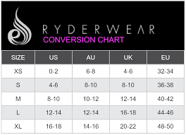 Gymshark Size Chart Ladies Size Chart Size Chart Size Clothing Chart