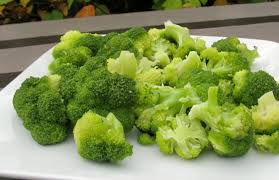 steamed broccoli.  Steamed With Steamed Broccoli
