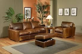 usa made leather sofa attoman chair omnia