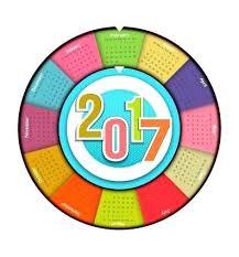 Circle Calendar Template Free Circular Calendar Template Round Strand Templates