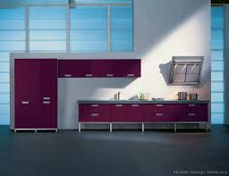 01 modern purple kitchen
