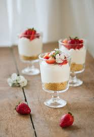 Individual No Bake Cheesecake Pretty Simple Sweet