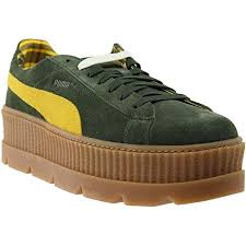 Puma Mens Fenty By Rihanna Suede Cleated Creeper Casual Sneakers