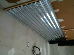 corrugated metal ceiling ideas sheet decorating for small bathrooms