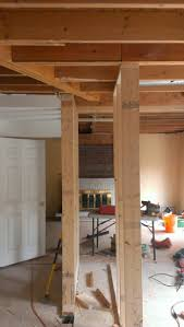 cost to remove load bearing wall and