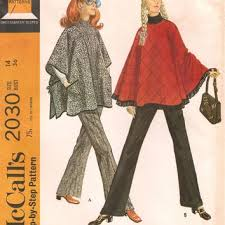 Poncho Sewing Pattern Magnificent Shop Poncho Sewing Pattern On Wanelo