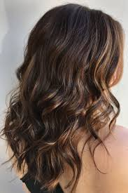 Dark Hair With Light Brown Streaks Chocolate Brown With Highlights Soft Highlight Natural