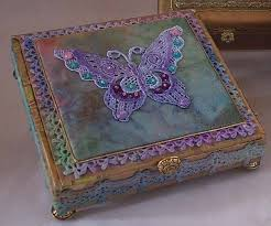 Decorating Cigar Boxes 60 best cigar box crafts images on Pinterest Cigar box crafts 2