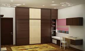furniture interior design. Wardrobe With Study : Asian Bedroom By NVT Quality Build Solution Furniture Interior Design I