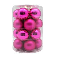 Weihnachtskugeln Pink 6 Cm 20 Stück