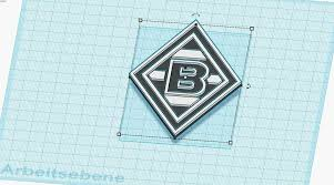 The total size of the downloadable vector file is a few mb and it contains the gladbach logo in.ai format along with. Download Free Stl File Multi Colur Borussia Moenchen Gladbach 3d Printer Object Cults