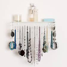 Hanging Necklace Organizer 5 Best Wall Mount Jewelry Organizer Beautifully Organize Your