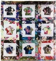 Stitch by Stitch: Hawaiian shirt quilt...   quilts   Pinterest ... & Quilt Pattern - Beyond the Reef - Aloha Shirt Adamdwight.com