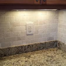 How To Grout Tile Backsplash Amazing Kitchen Back Splash Tile Grouted Tile Is Queen Beige Tumbled Amalfi