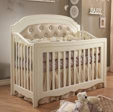 natart allegra convertible crib with tufted panel kids n cribs