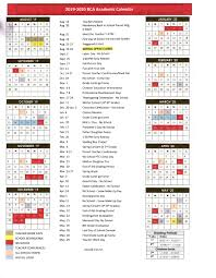 Year At A Glance Calendars School Calendar Brice Christian Academy