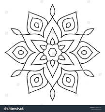 Cute Easy Designs Top 68 Fab Coloring Pages Simple Rangoli Designs Freeintable