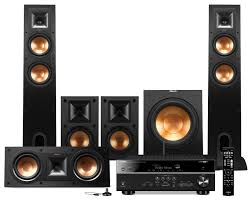 klipsch home theatre. sound systems - yamaha rx-v581 home theatre package with klipsch speakers