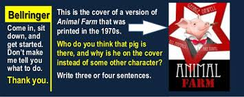 animal farm chapter ayg quiz then appositives practice  bellringer come in sit down and get started