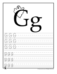 Learning ABC's Worksheets Learn Letter G – Classroom Jr. | ABC ...